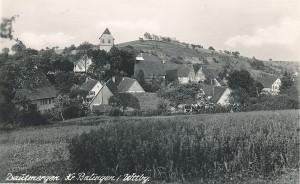 Alte Postkarte von Dautmergen