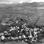 Altes Luftbild von Dautmergen