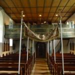 St. Verena Innenraum und Orgelempore 2014