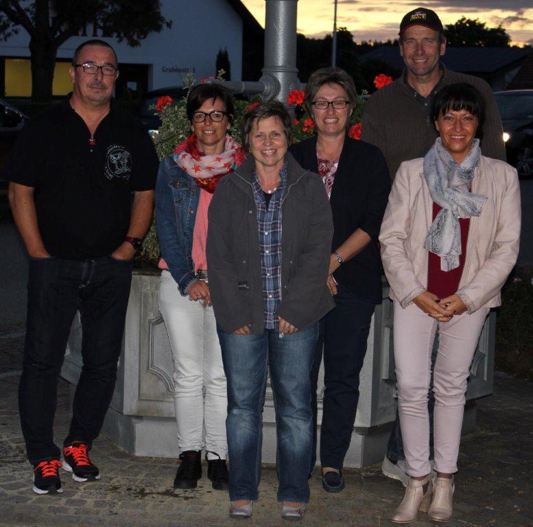 von links: Alfred Werner, Simone Alf, Heike Gauß, Sabine Weber, Kurt Ruoff, Raffaela Metzger (es fehlt Siglinde Wager)